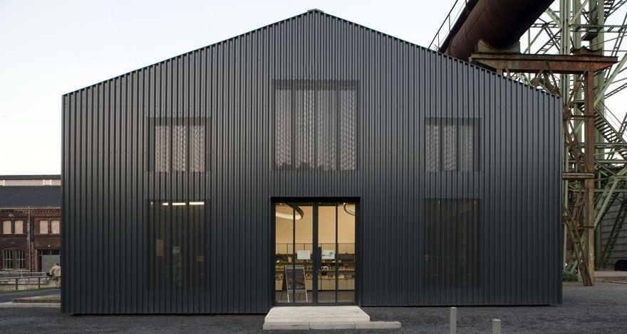 Architekt Essen pumpenhaus besucherzentrum gastronomie 2012 arq heinrich böll