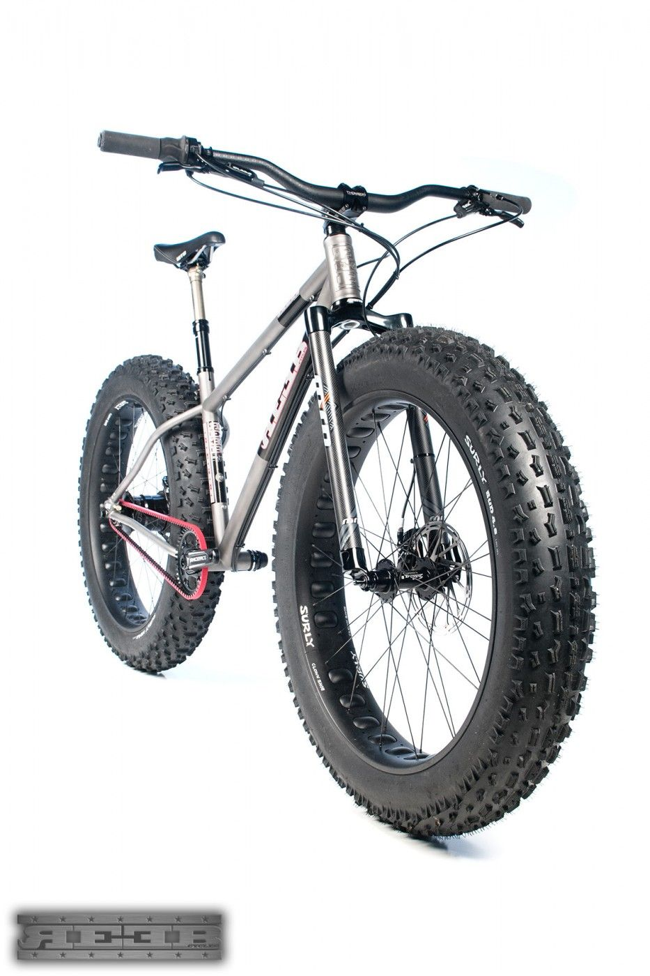 Titanium Fat Bike Gates Carbon Belt Drive Fork Thompson Bmw Dropper Seatpost