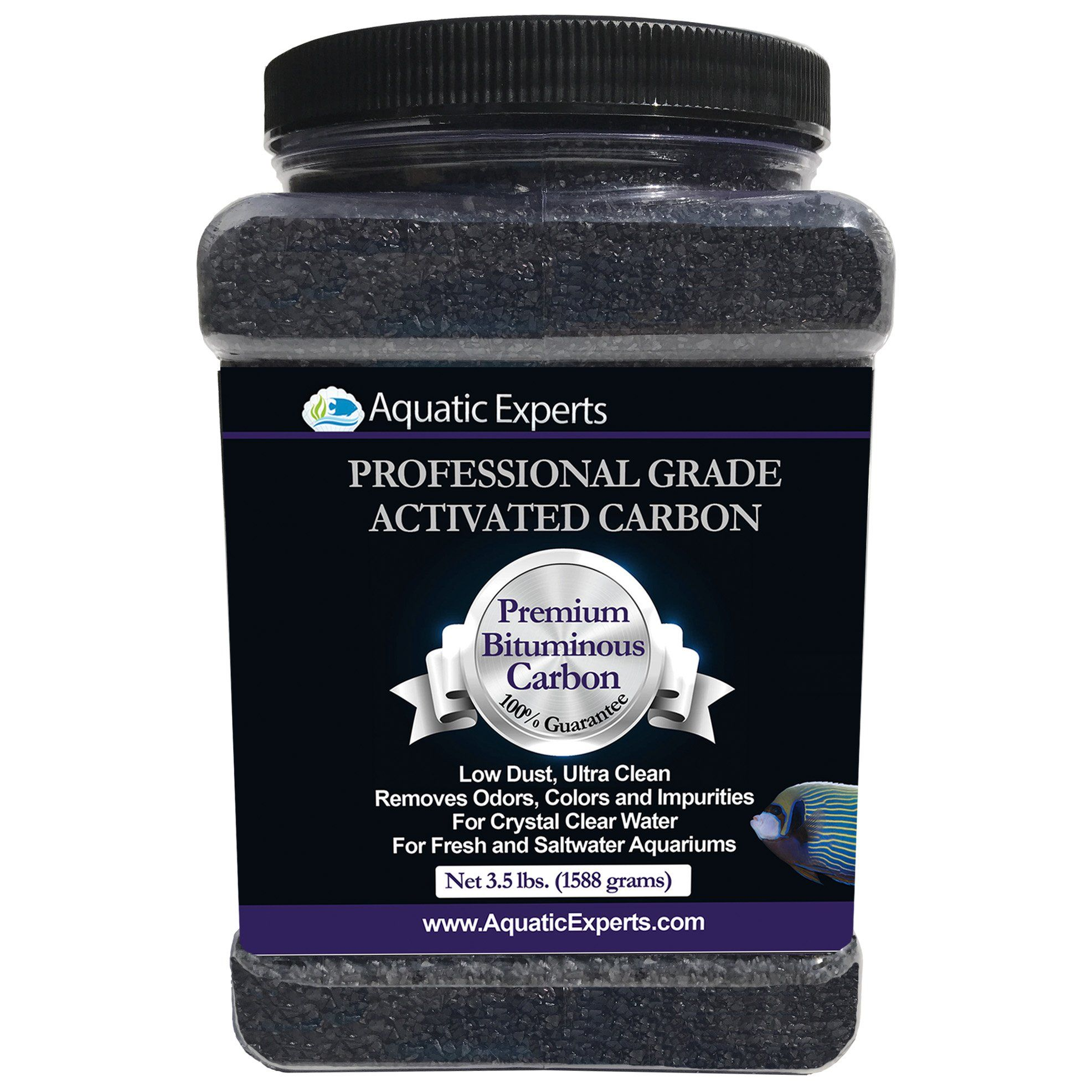 Premium Activated Carbon Aquarium Filter Charcoal Media