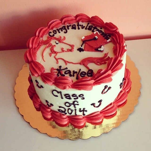 Graduation Cake by 2tarts Bakery / New Braunfels, Texas / www.2tarts.com