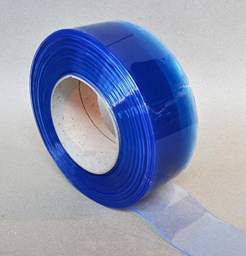 Clear Flexible Pvc Door Strip Curtain 300mm Wide X 3mm Thick