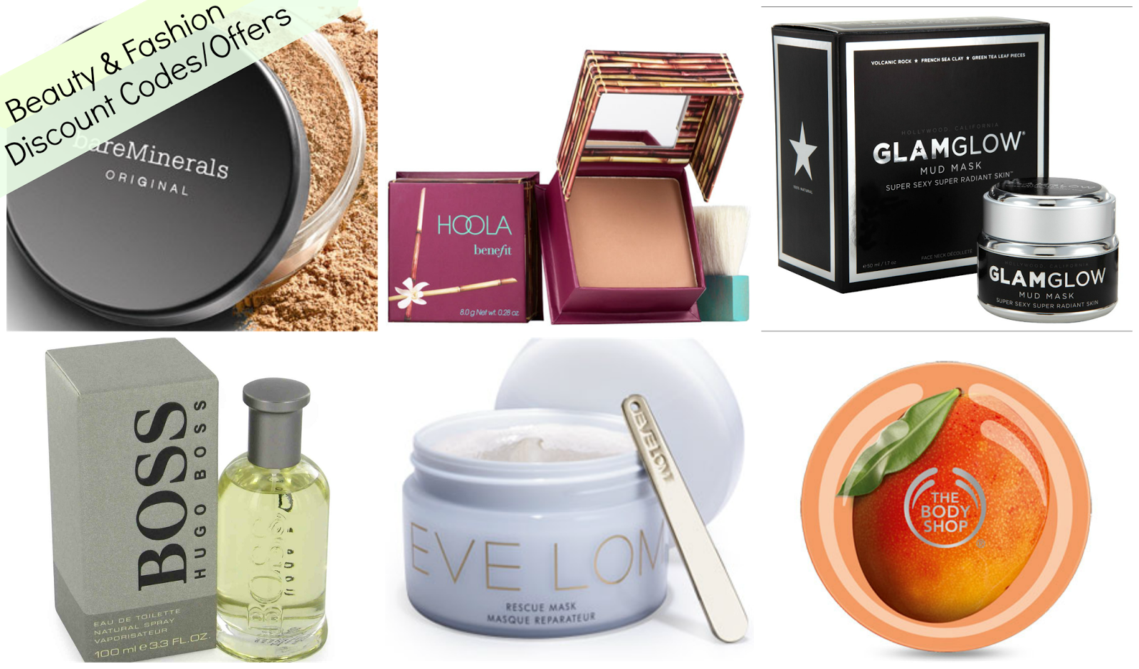 Beauty and Fashion Discount Codes/Offers #2