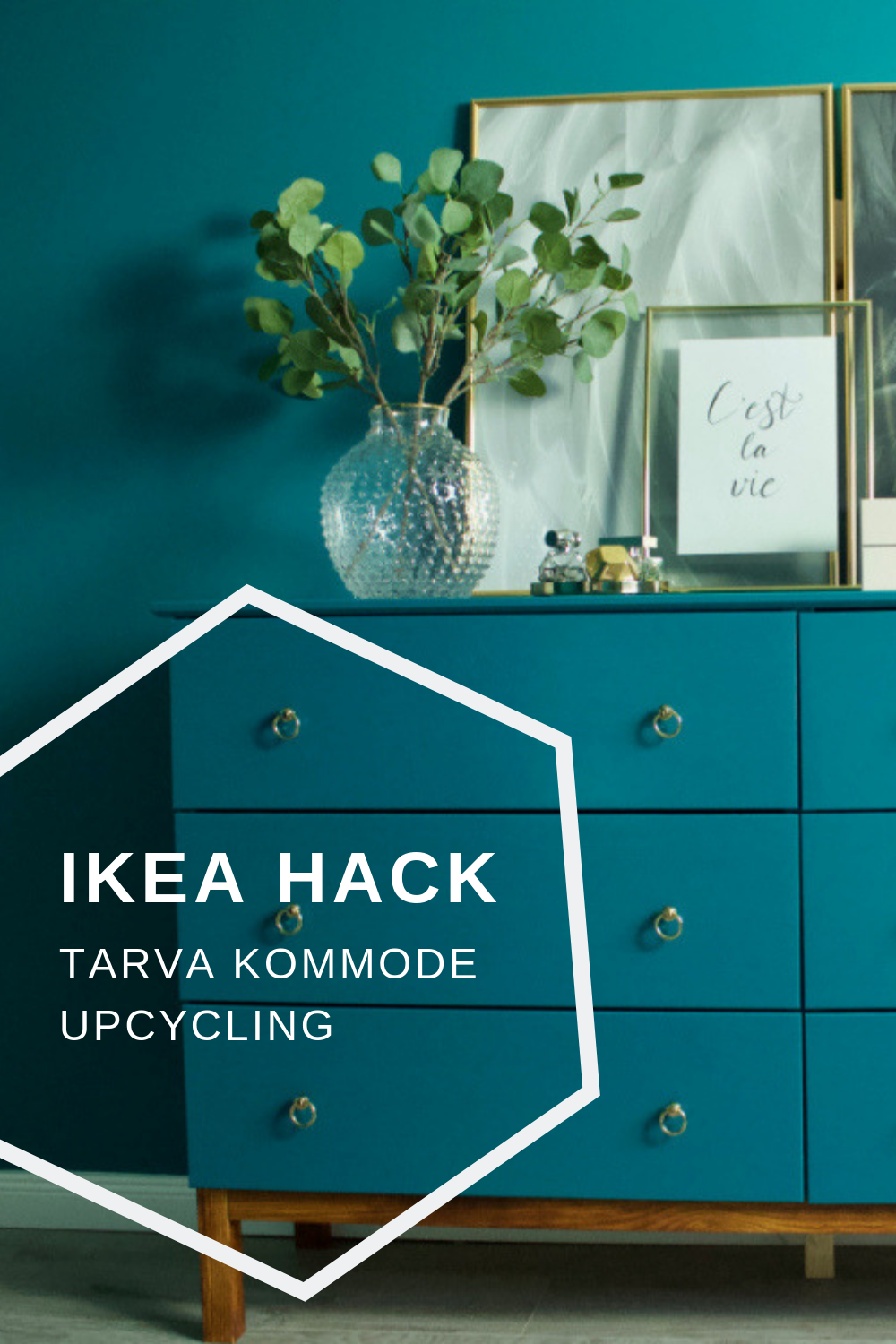 Tarva Kommode Ikea Hack Tarva Kommode Makeover Greener Restorations Ikea