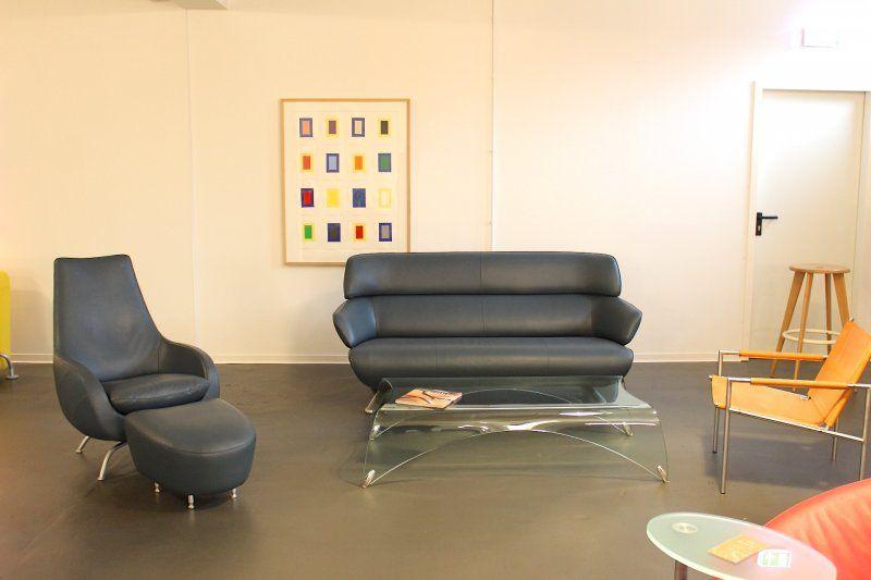 ROLF BENZ *2000* GARNITUR couch Sofa ledersofa Ledergarnitur sessel chair