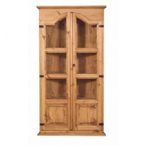 Rustic Pine Corner Cabinetthis Is Perfect For A Small Dining Pleasing Small Corner Cabinets Dining Room Inspiration