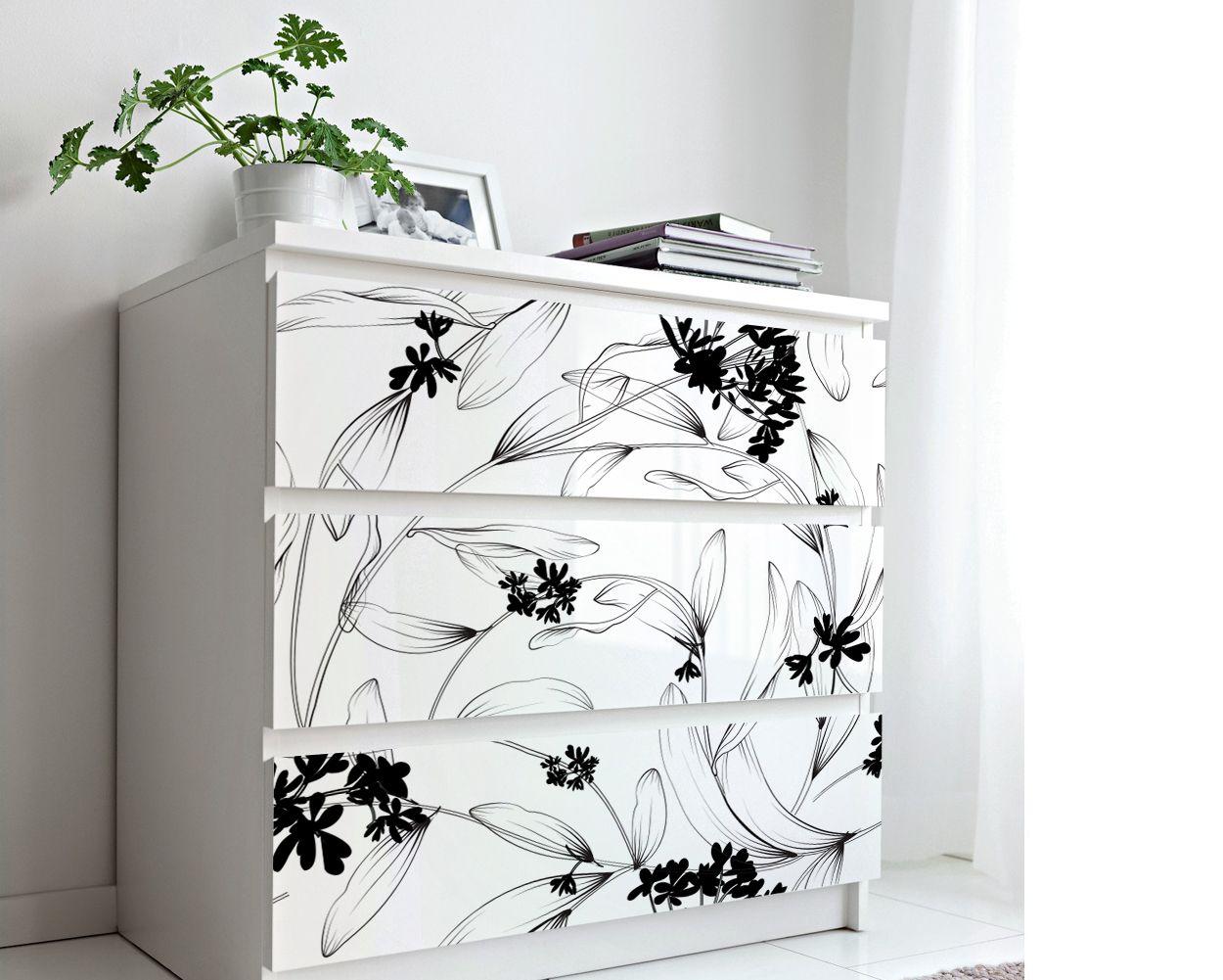 Minimal Leaves Wallpaper Mural Kuarki Lifestyle Solutions Dresser Decor Leaf Wallpaper Mural Wallpaper