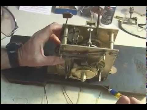 How To Oil An Antique Clock Movement Youtube Watches