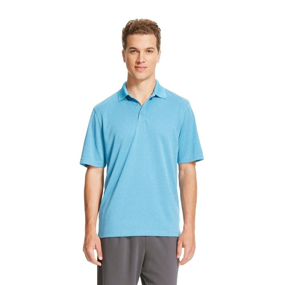 5aa7b254e Men s Polo Shirt Underwater Blue Xxl - C9 Champion