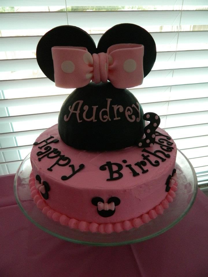 Minnie mouse birthday cake birthday cake kids minnie