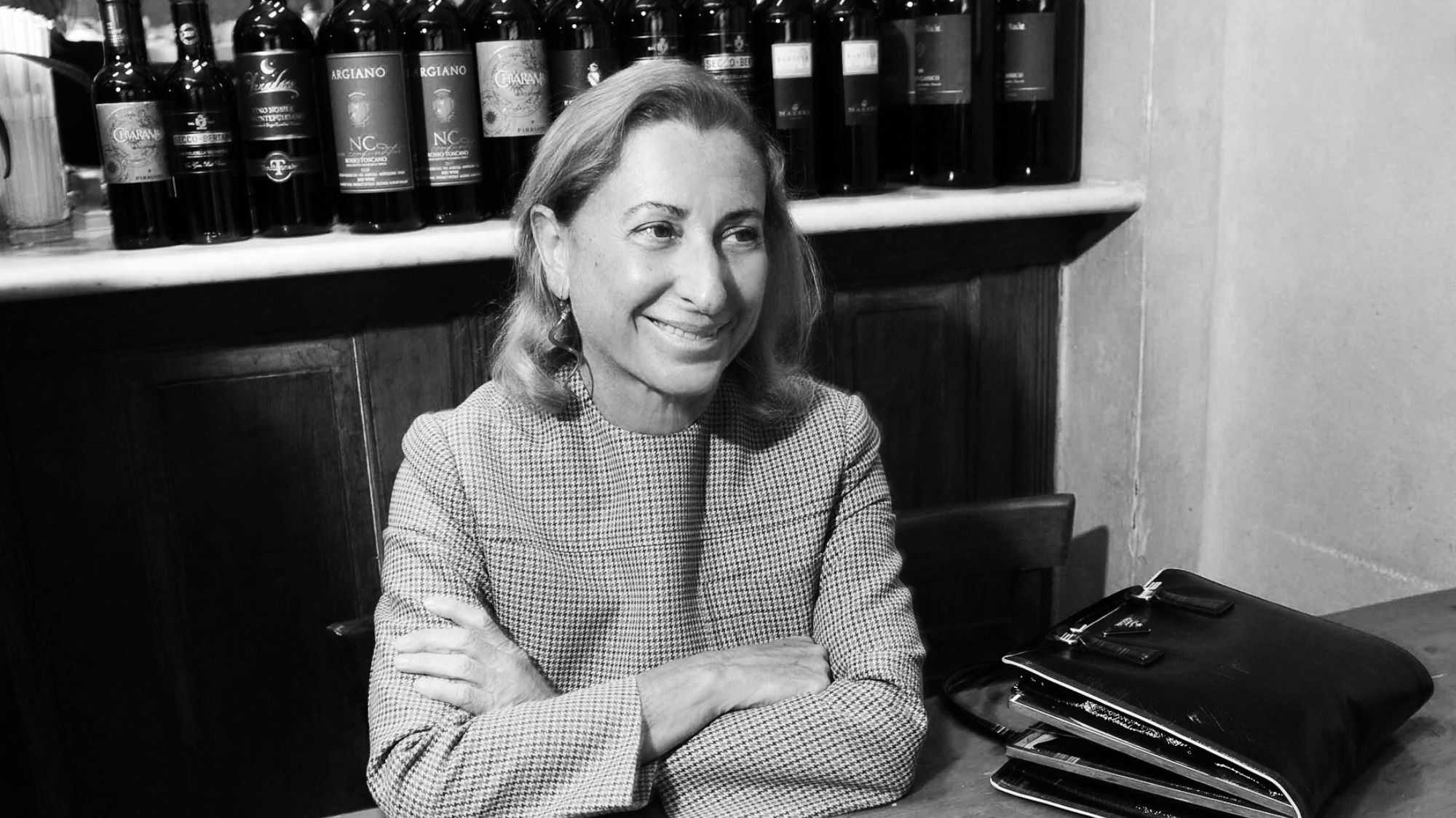 """""""If you don't work, of course you think about the problem of your wrinkles from morning until night. If you work, you have something better to think about."""" - miuccia prada"""