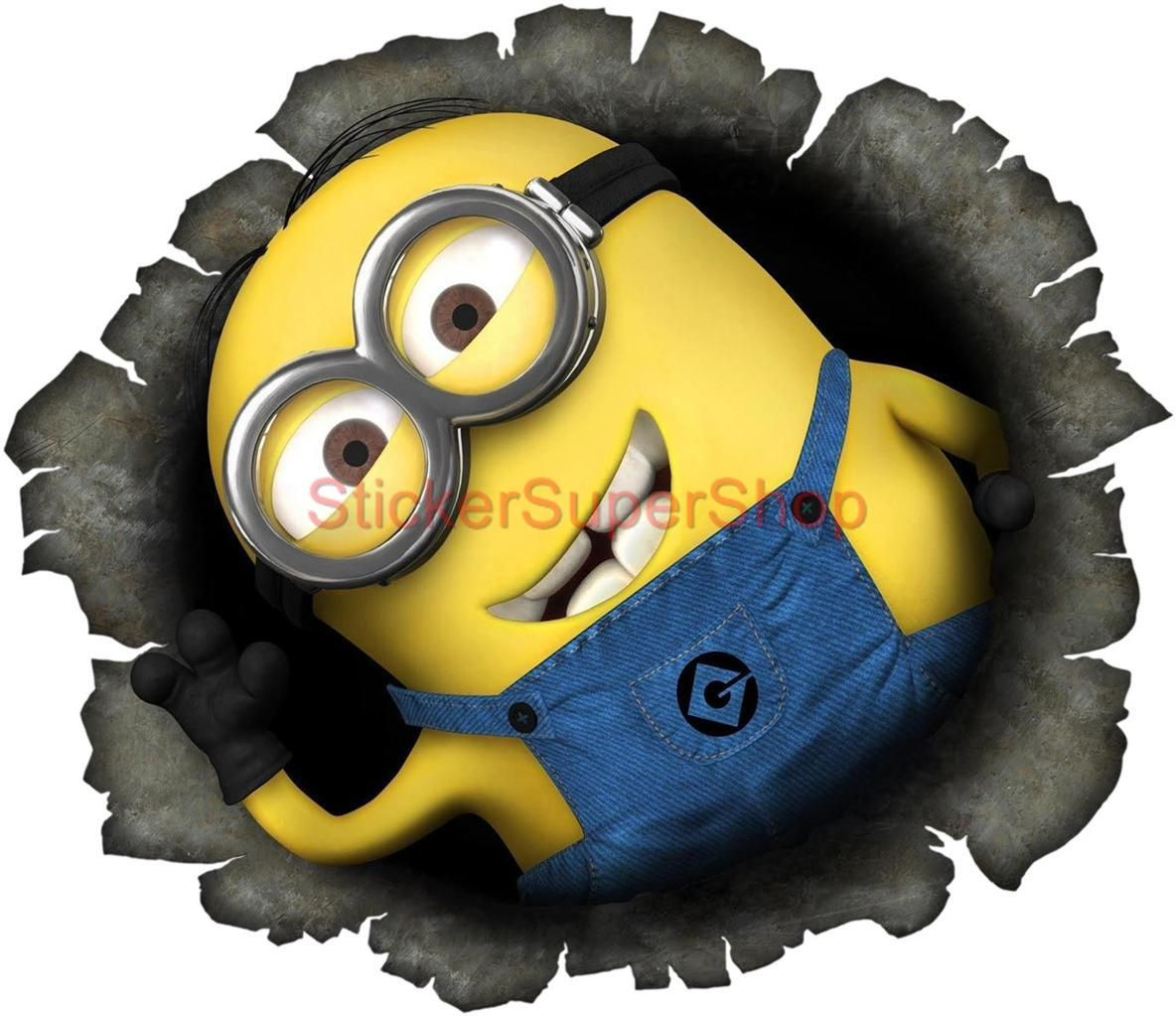 Minion Wall Decor details about despicable me 2 minion in my wall movie decal