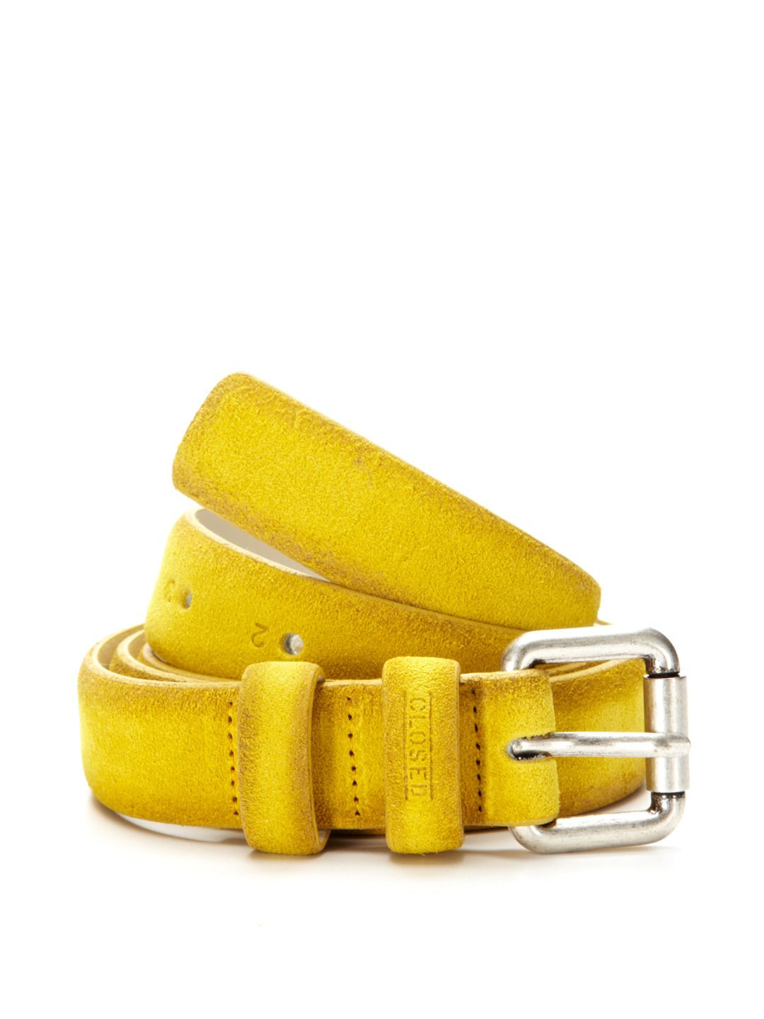 Distressed Solid Belt by Closed