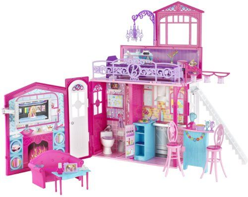 # Recensioni Del Cliente Barbie R4186-0 - Barbie la casa glam