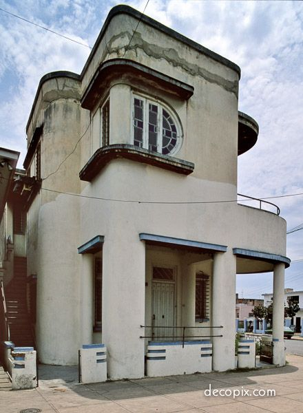 Art Deco House - Havana   Deco Architecture & Interiors   Pinterest ...