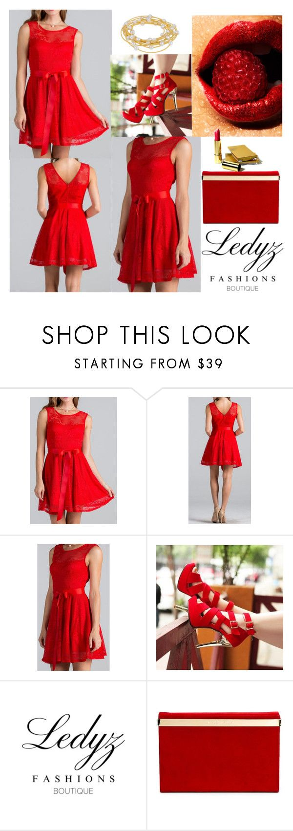 """""""bj"""" by biebergirl1013 ❤ liked on Polyvore featuring Charlotte Olympia, Sugar NY and LedyzFashions"""