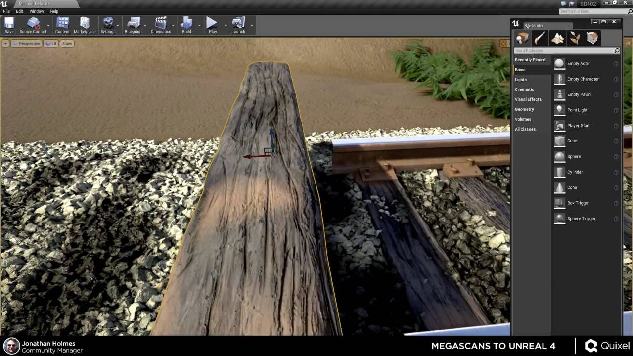 Quixel Megascans To Unreal Engine 4 Part 2 Unreal Engine Game