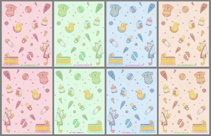 Baby Embellishments Free Scrapbook Printables Craft Mix