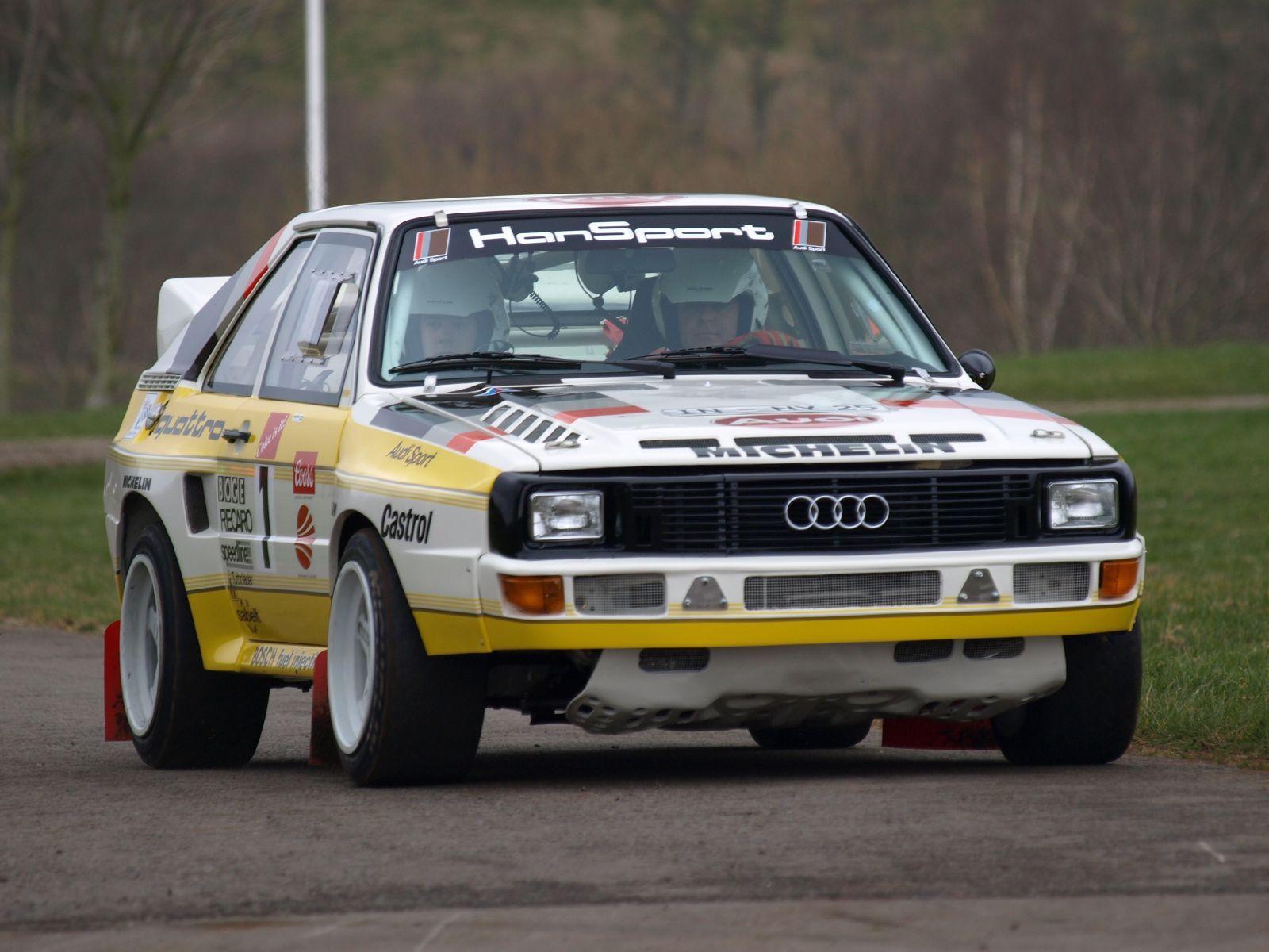 Audi Sport Quattro I appreciate all sorts of professional sports and ...