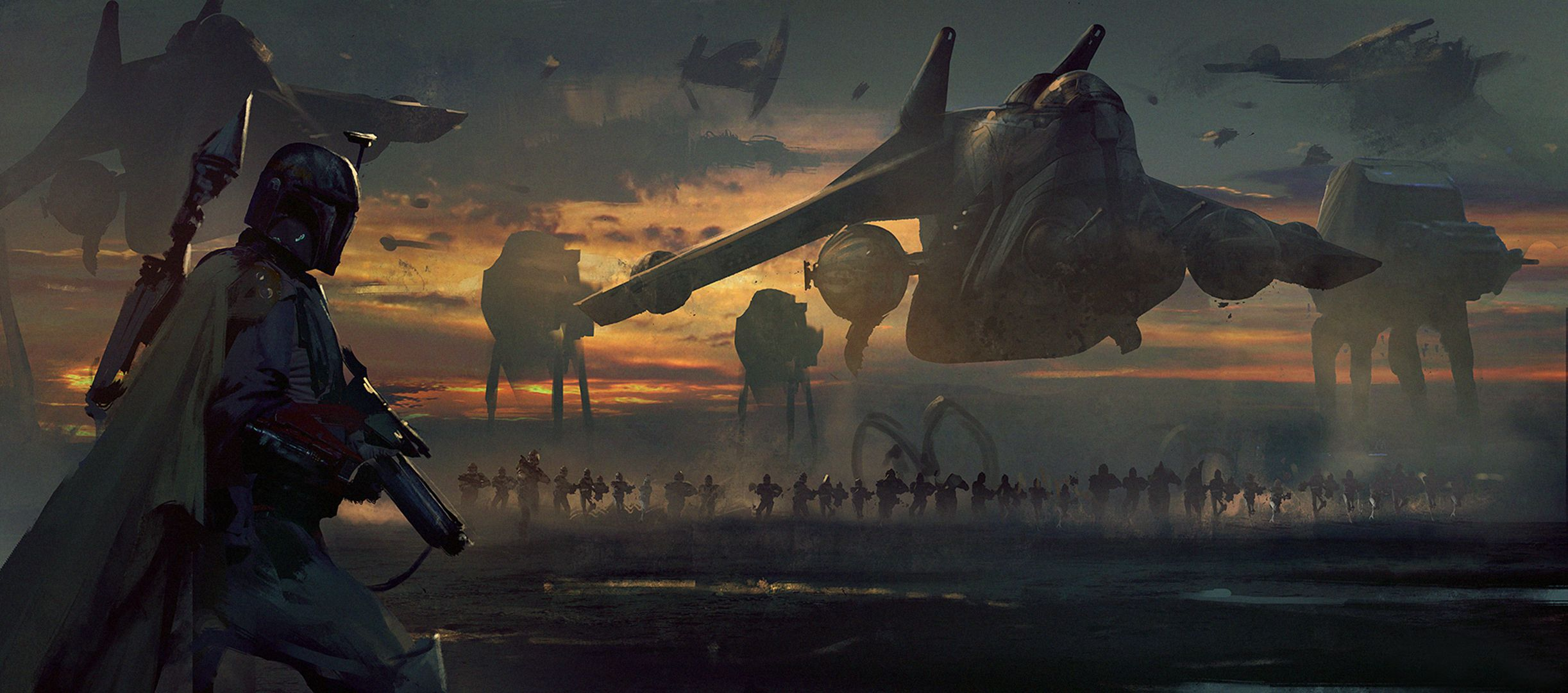 Star Wars Art Wallpaper Star Wars Concept Art Star Wars