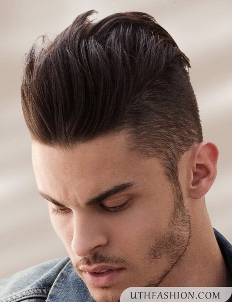 Spiky Hairstyle For Round Face Men Hairstyles Hair Styles Short