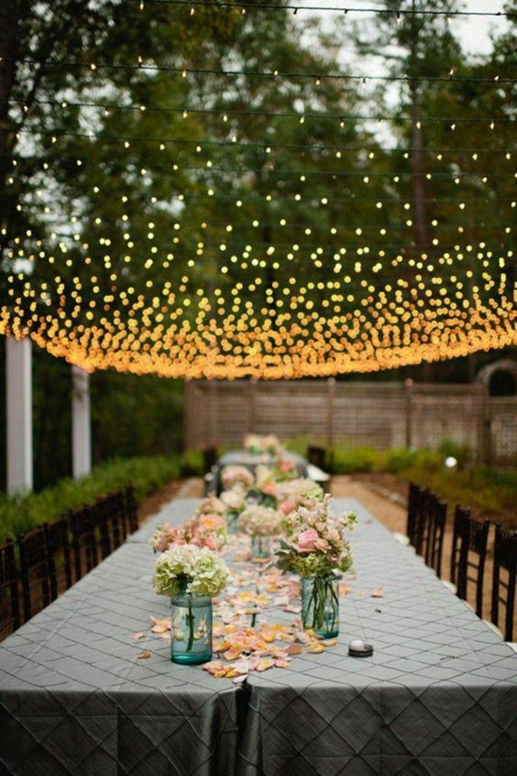 DIY decoration ideas table decorations for garden party | Quarter ...