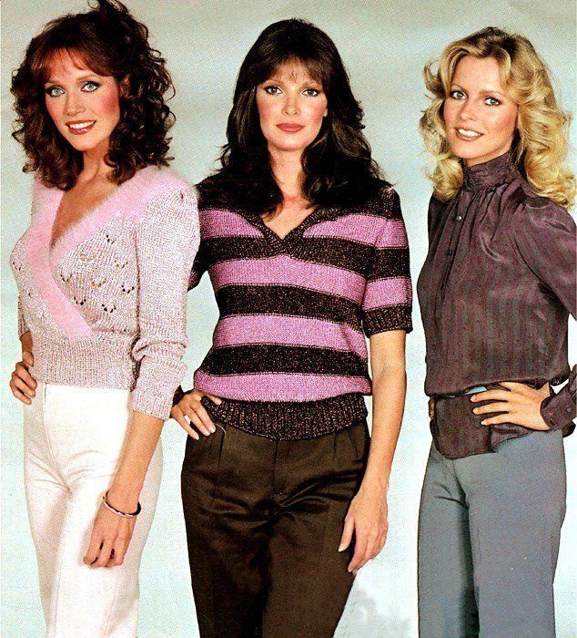Charlie's Angels season five/****Tonya ???, Jaclyn Smith and Cheryl Ladd