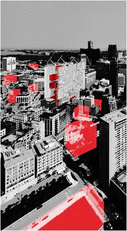 Gallery of 'Redesigning Detroit: A New Vision for an Iconic Site' Competition Entry / H Architecture - 2 #architecture
