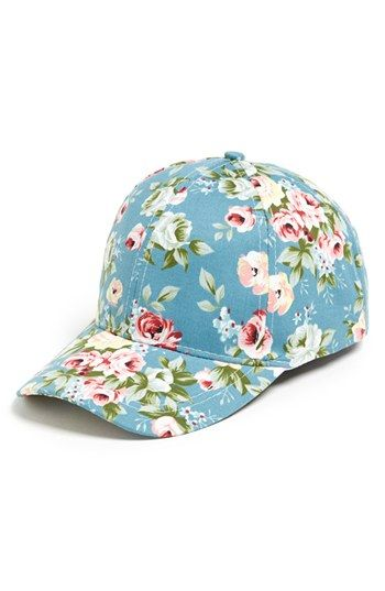 David   Young Floral Baseball Cap (Juniors) available at  Nordstrom ... 281d8245622