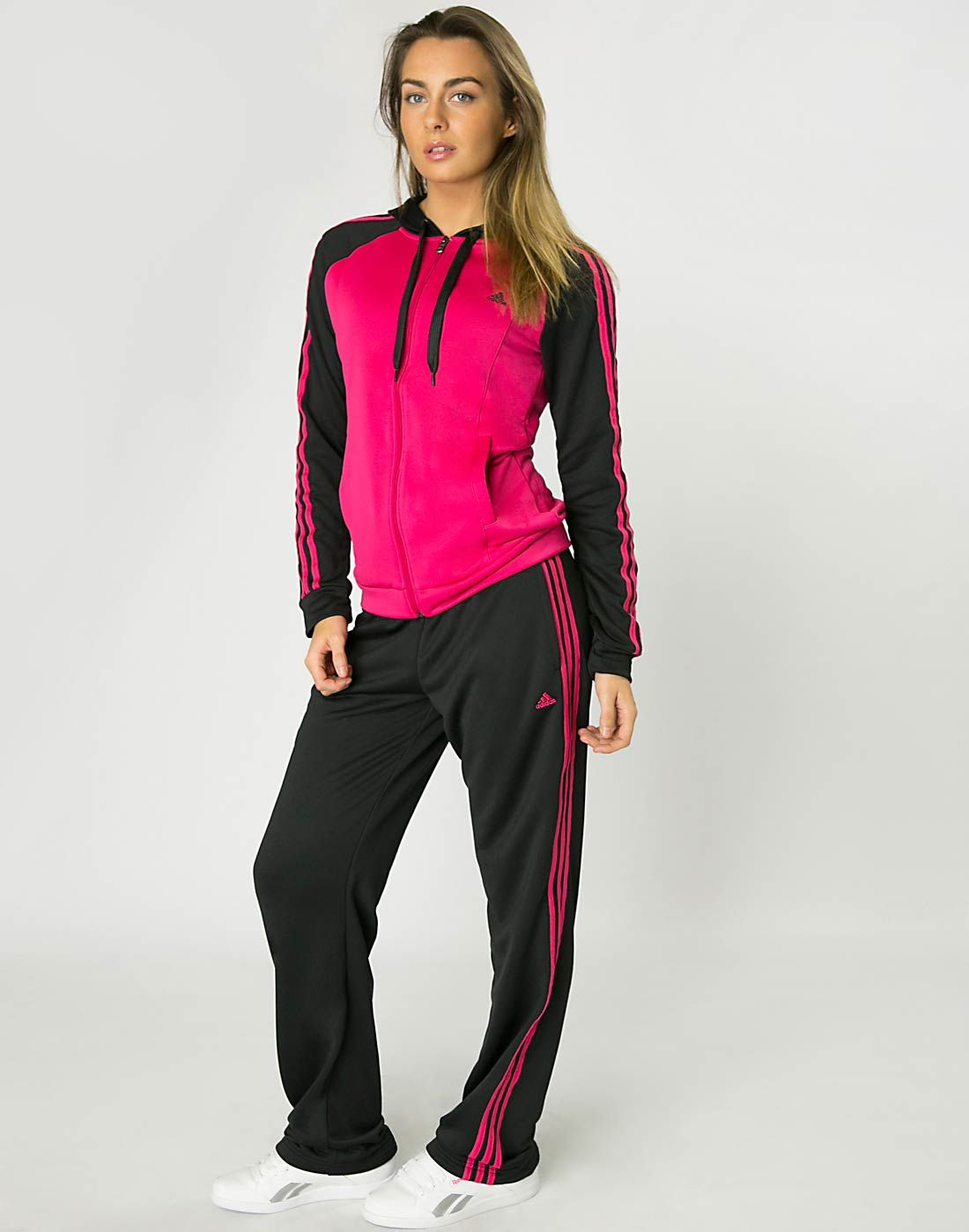 adidas Womens Young Knit Suit | Adidas women, Fashion, Sport
