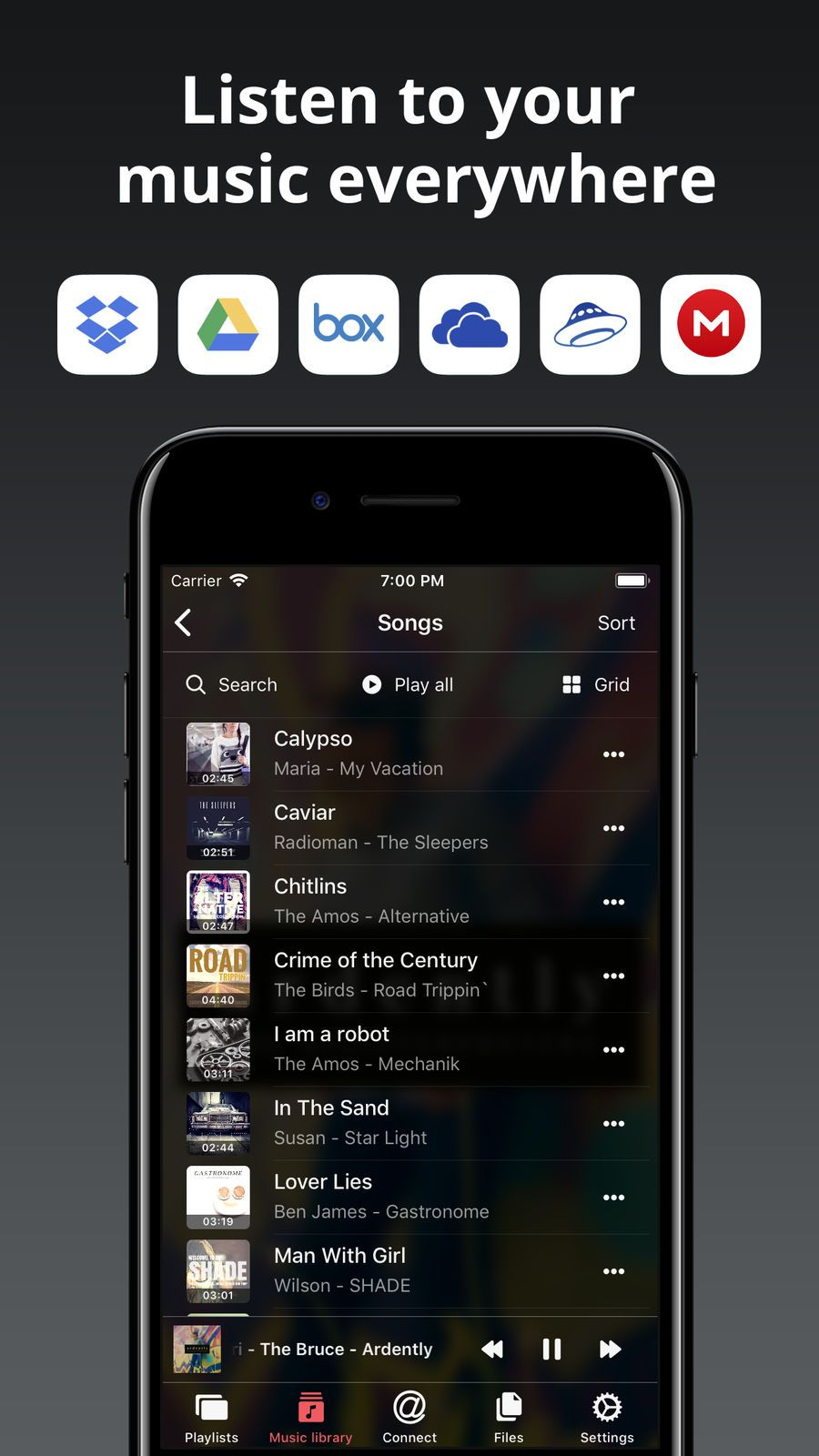 Evermusic offline music ProductivityMusicappsios