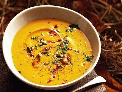 Суп с твердым сыром | Рецепты супов из тыквы, Рецепты ...