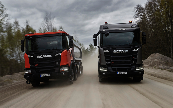 Download wallpapers Scania G450, XT design, R580, new trucks