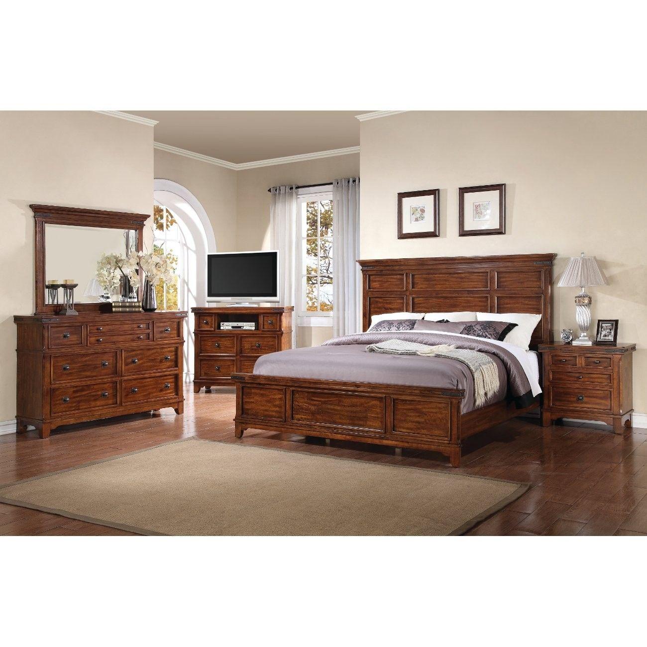 Sierra Ridge Bedroom Collection Queen (2668) Wood
