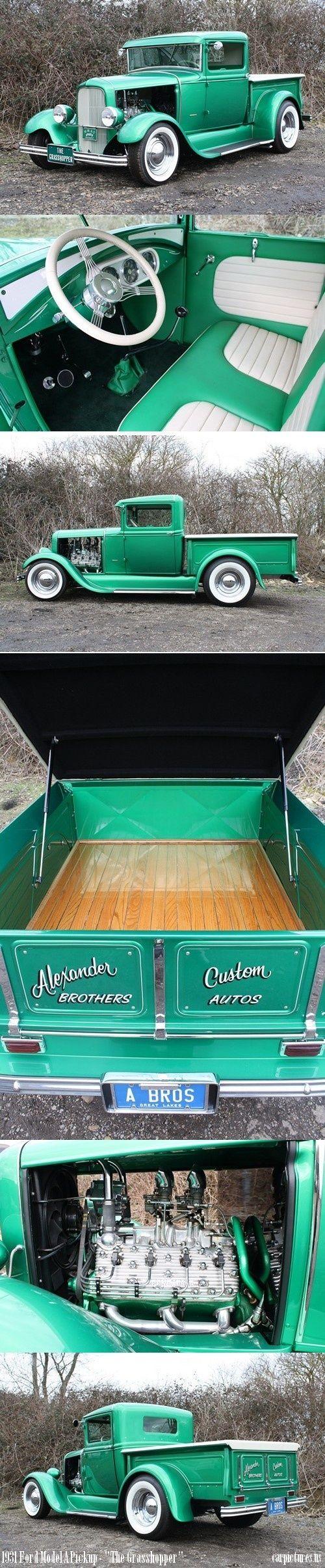 "1931 Ford Model A Custom Pickup – ""The Grasshopper"" | repinned by www.Blic…"