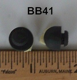 Bb41 Pack Of 15 Rubber Button Bumpers A 1 2 B 9 16 C 1 4 D 5 16 E 3 8 Rubber Bumpers Buttons