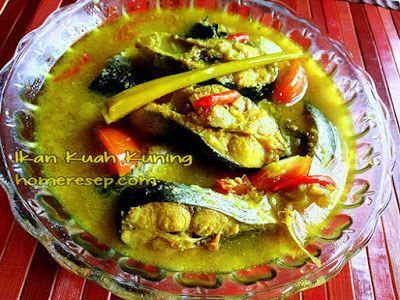 Resep Ikan Patin Kuah Kuning Resep Masakan Indonesia Homemade Resep Ikan Resep Resep Masakan