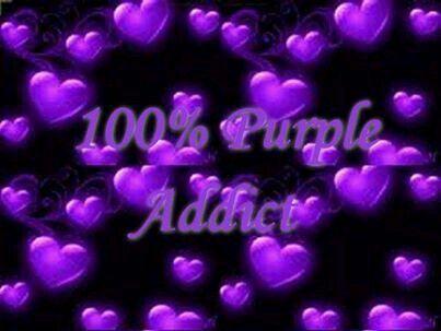 100% Purple Addict