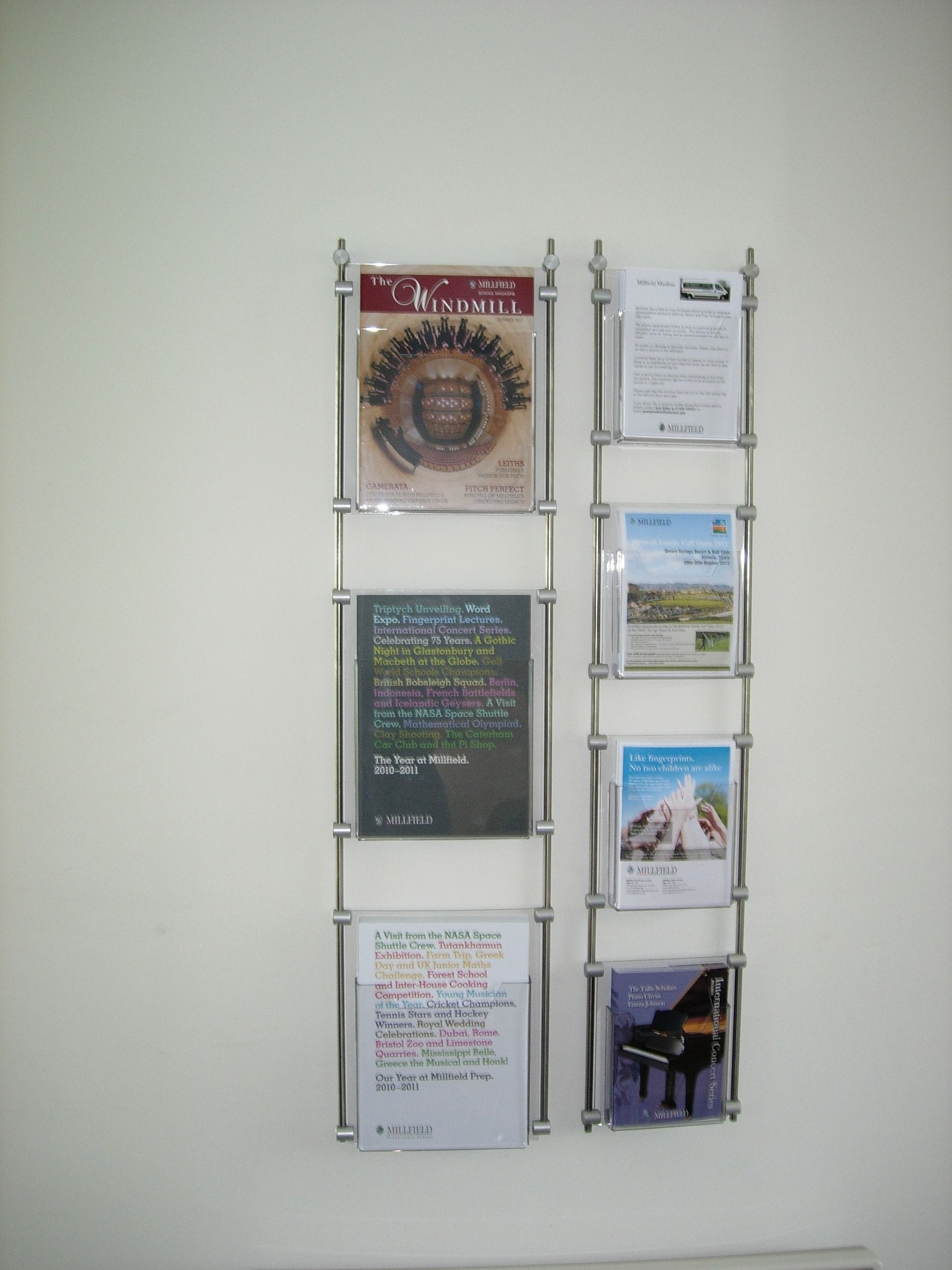acrylic wall wooden lucite brochure dimensions ideas holders mount shelf mounted for x intended rack furniture