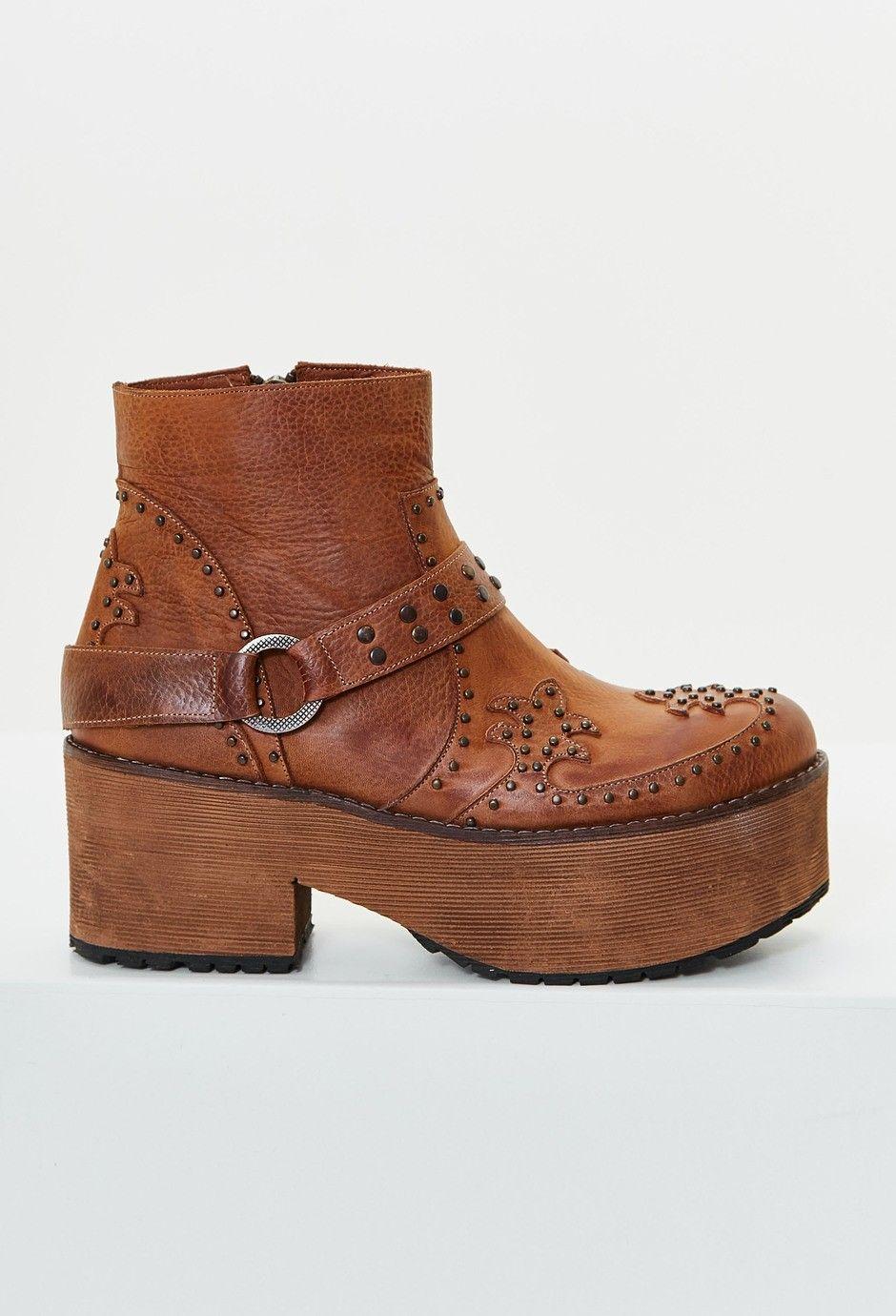 Clara Barcelo Zapatos Pin Uno Pin Dos Pin Tres Suela Zapatos De Moda Botas Con Plataforma Zapatos