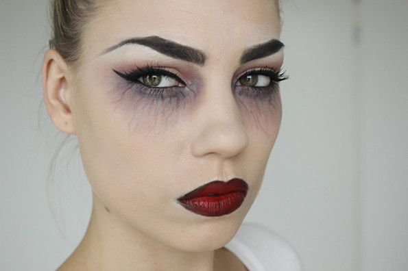 vampire makeup foto tutorial