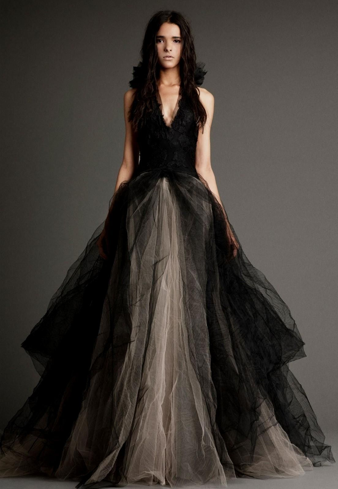 black wedding dresses vera wang World dresses | Captured Beauty ...