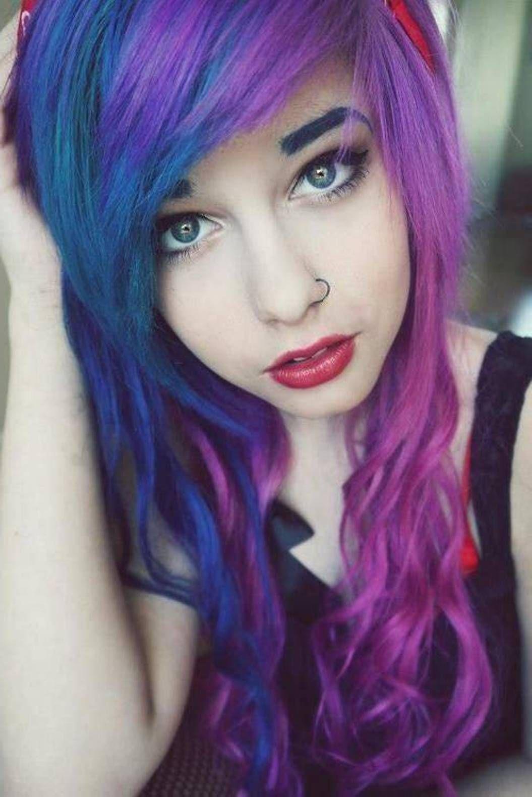 scene hair color ideas women style Celebrity plastic
