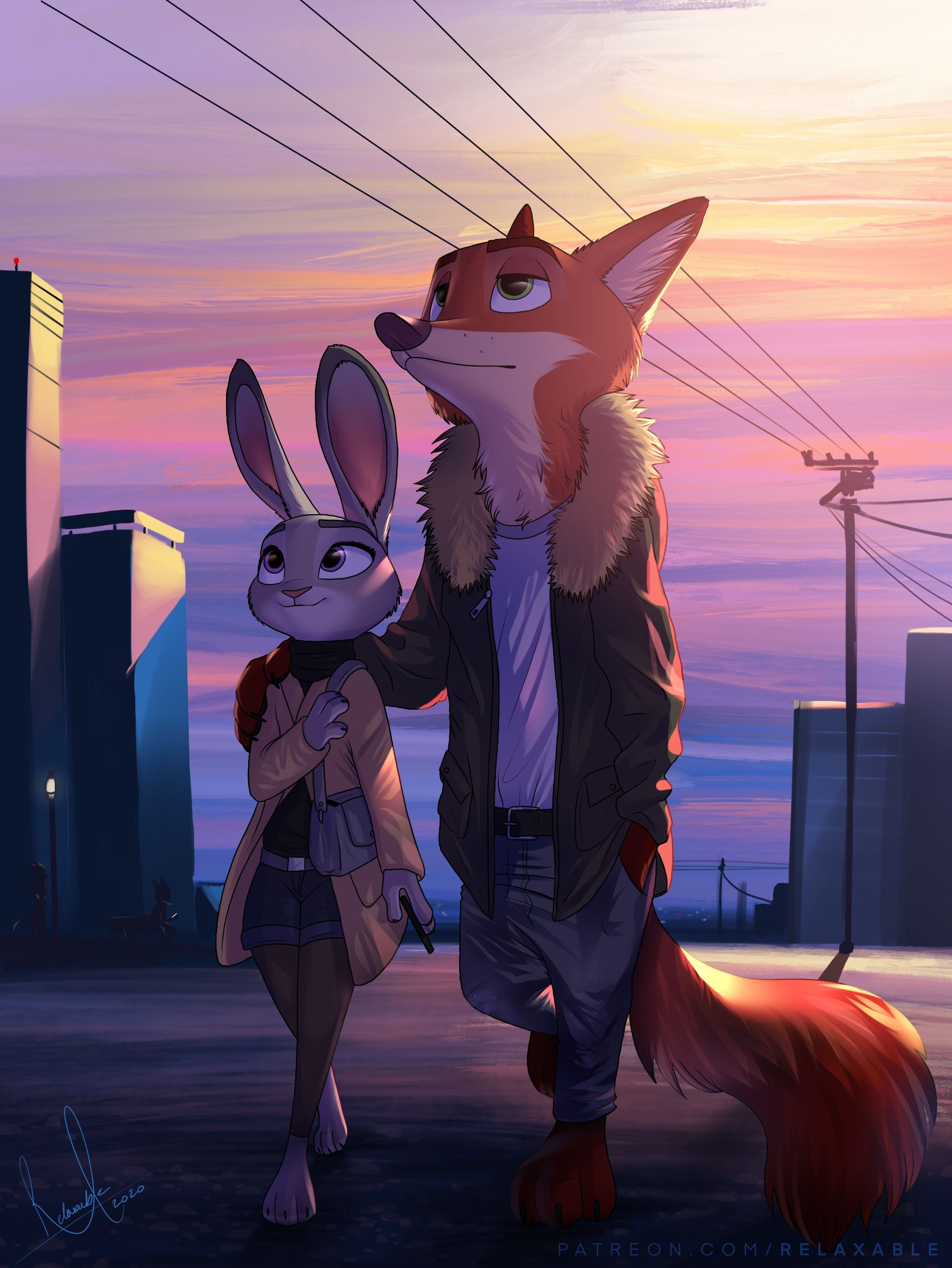 Favoloso Sightseeing by RelaxableFur on DeviantArt in 2020 | Zootopia anime RU73