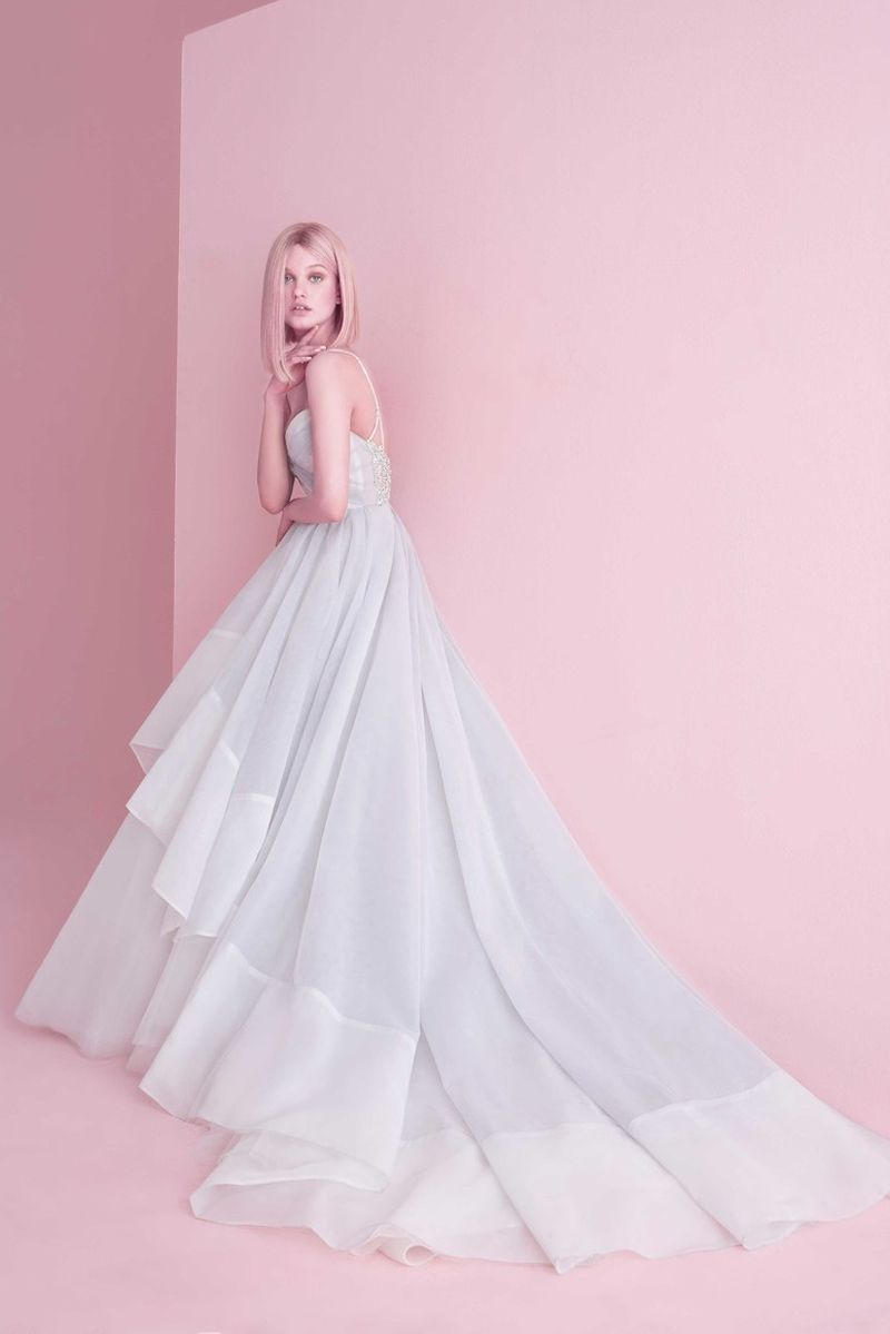 beautiful colored wedding dresses featuring unexpected color