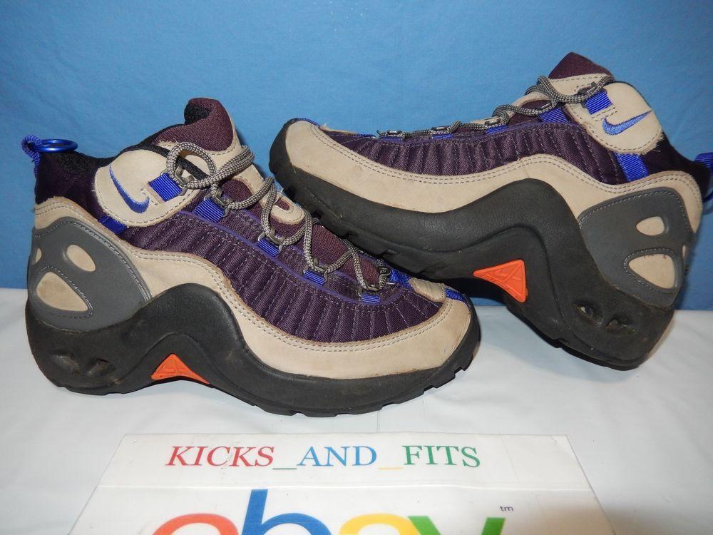 Vtg OG SAMPLE Nike ACG Boots Women's Size 7 Korea 109010-541 90's Rare Shoes