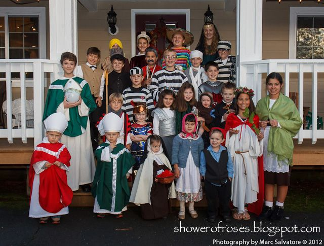 Shower of Roses: Celebrating the Saints :: Our Annual All Hallows' Eve Party!