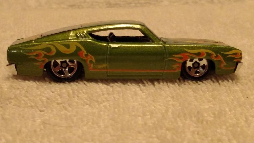 Hot Wheels 69 Ford Torino Talladega 35 365 Hw Flames Series 4 10