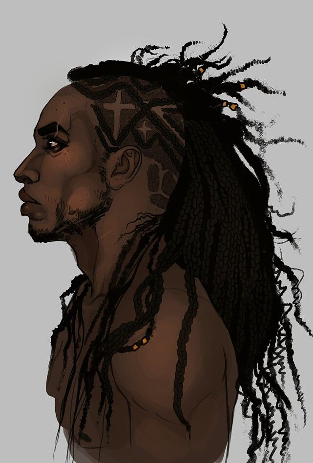 Dreads African Anime Characters Pinterest Dreads Character Design And Drawings