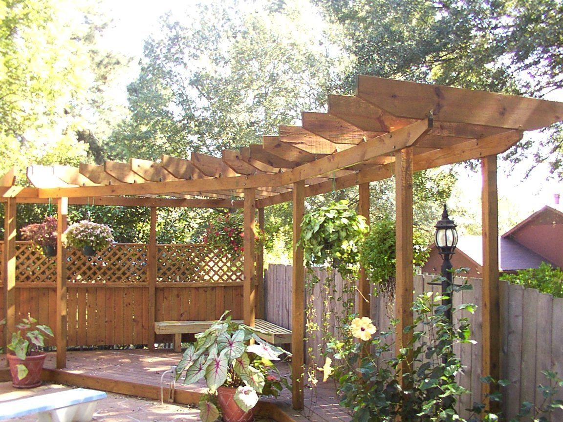 Garden Arbor And Pergola Designs   Pergola Design For Decks