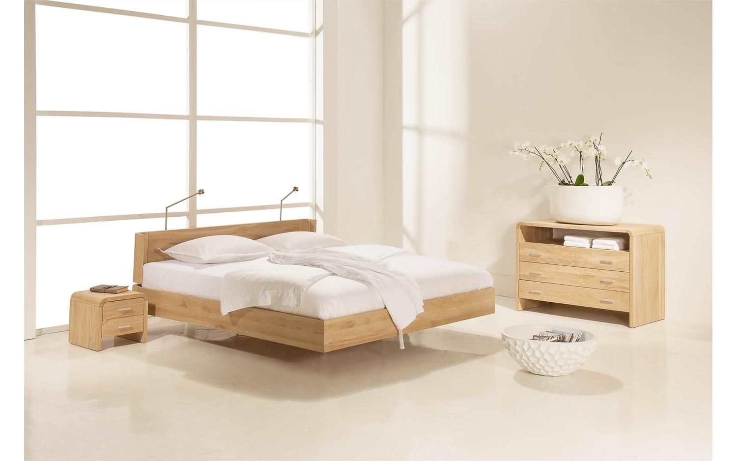 Ledikant oak bedrooms